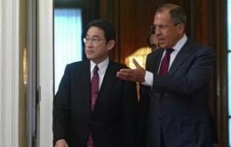 Nga và Nhật Bản thảo luận việc ký kết hiệp ước hòa bình