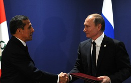 Nga - Peru thiết lập quan hệ đối tác chiến lược