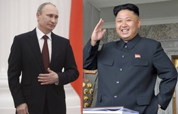 Phái đoàn quân sự Triều Tiên thăm Nga