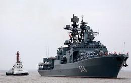 Nga và Trung Quốc tập trận chung ở Địa Trung Hải