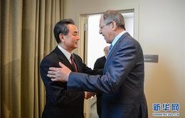 Nga, Trung Quốc cam kết hợp tác trong các vấn đề quốc tế