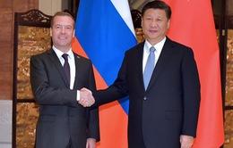 Chủ tịch Trung Quốc hy vọng quan hệ Nga-Trung phát triển hơn nữa