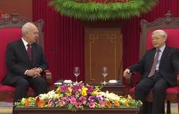 Tổng Bí thư tiếp Đại sứ đặc mệnh toàn quyền Liên bang Nga tại Việt Nam