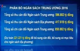 Quốc hội thông qua Nghị quyết phân bổ ngân sách Trung ương năm 2016