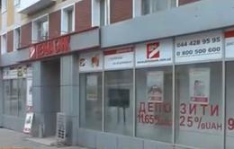 Ukraine: 46 ngân hàng tuyên bố phá sản trong một năm