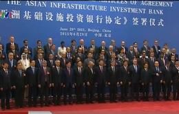 Việt Nam ký Điều lệ hoạt động của Ngân hàng AIIB
