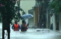Quảng Ninh: 500 nhà dân tại TP Uông Bí bị ngập sâu trong nước