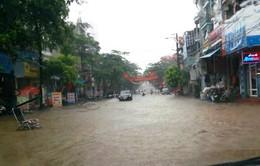 Quảng Ninh: Mưa lớn gây ngập lụt, sạt lở nhiều khu vực