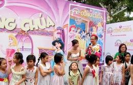 Ngày hội Công chúa thu hút hàng trăm em nhỏ