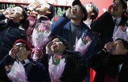 """Học cách nói lời yêu thương tronglễhội""""ngày chồngyêu vợ"""" của Nhật Bản"""