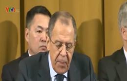 Ngoại trưởng Nga: Châu Âu vẫn còn vũ khí hạt nhân có thể bắn tới Nga