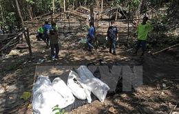 Malaysia phát hiện 139 ngôi mộ tập thể gần biên giới Thái Lan