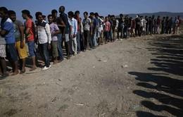 """Hội nghị Ngoại trưởng EU """"nóng"""" về cuộc khủng hoảng di cư"""