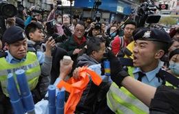 Hong Kong: Bắt giữ 30 người biểu tình phản đối thương nhân Trung Quốc