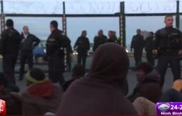 Hàng nghìn người di cư bất hợp pháp tràn ngập biên giới Anh - Pháp