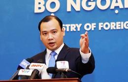 Việt Nam lên án hành vi sử dụng vũ lực đối với ngư dân Việt Nam