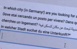 Xuất hiện trang web giúp đỡ người tị nạn tìm kiếm chỗ ở tại Đức