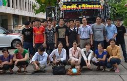 Lao động Việt Nam bị lừa sang Thái Lan đã về nước