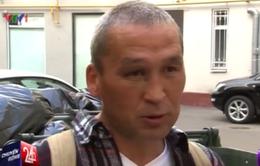 Nga: Người vô gia cư trở thành hiện tượng trên mạng Internet
