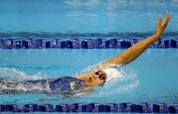 Nguyễn Diệp Phương Trâm tỏa sáng tại Giải bơi các nhóm tuổi Đông Nam Á