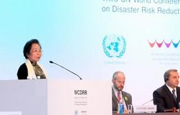 Hội nghị toàn cầu về giảm nhẹ rủi ro thiên tai