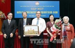 Gặp mặt cán bộ Ban Trí vận Khu Ủy Sài Gòn - Gia Định