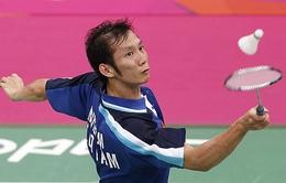 Nguyễn Tiến Minh thẳng tiến vào vòng 3 giải Cầu lông Đài Loan-Trung Quốc mở rộng