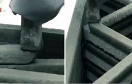 Khám phá ngôi nhà xây bằng máy in công nghệ 3D