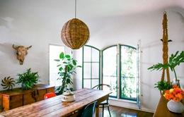 Ngắm ngôi nhà đẹp mắt với phong cách Bohemian