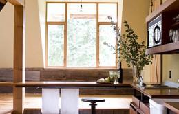 Không gian nhà ở gần gũi với đồ nội thất gỗ