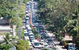 Khánh Hòa: Giao thông xáo trộn dịp nghỉ lễ