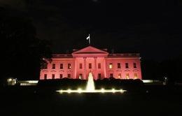 Nhà Trắng chuyển hồng nhằm nâng cao nhận thức về ung thư vú