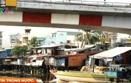 TP.HCM: Di dời nhà 'ổ chuột' ven kênh rạch
