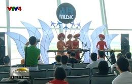 Air Music đem âm nhạc đến Sân bay quốc tế Nội Bài