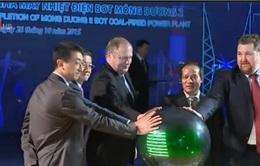 Khánh thành nhà máy nhiệt điện BOT Mông Dương II