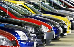 Tháng 8/2015, nhập khẩu ô tô dưới 9 chỗ đạt mức kỷ lục