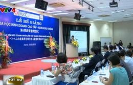 Nhật Bản hỗ trợ Việt Nam đào tạo lãnh đạo doanh nghiệp
