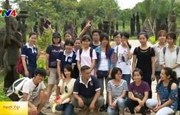 Sinh viên Nhật hào hứng với chương trình giao lưu tại Việt Nam