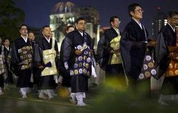 Nhật Bản tổ chức kỷ niệm 70 năm thảm họa Hiroshima