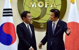 Lãnh đạo Nhật-Hàn đánh giá cao thỏa thuận vừa đạt được