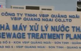 Khánh thành nhà máy xử lý nước thải VSIP Quảng Ngãi