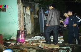 Nổ bình gas ở Nam Định, 3 nhà sập, 1 người tử vong