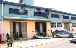 Đồng Nai: Nổ bình khí hơi, 2 người bị thương nặng