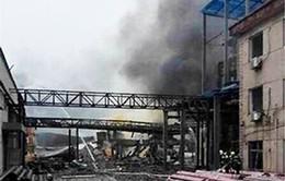 Lại nổ nhà máy hóa chất tại Trung Quốc, 7 người bị thương