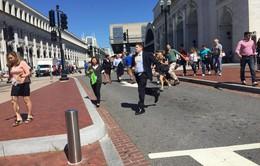 Nổ súng gần trụ sở Quốc hội Mỹ, 2 người bị thương