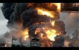 Nổ xe bồn chở xăng tại Nigeria, gần 70 người thiệt mạng