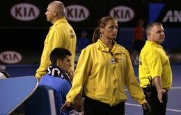 Nole được bảo vệ kĩ lưỡng trước khi vô địch Úc mở rộng 2015