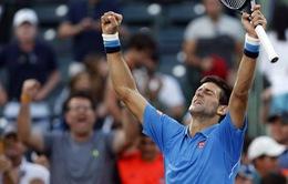 """Miami Open 2015: Đả bại Ferrer, Djokovic đụng """"ngựa ô"""" John Isner ở bán kết"""
