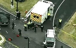 Mỹ: Xe ô tô tông thẳng trụ sở Cơ quan An ninh Quốc gia