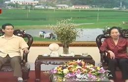 Phó Chủ tịch nước Nguyễn Thị Doan thăm và làm việc tại tỉnh Hà Giang